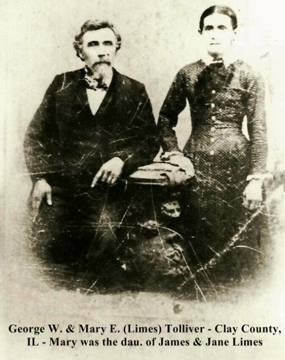 George W. and Mary E. (Limes) Tolliver