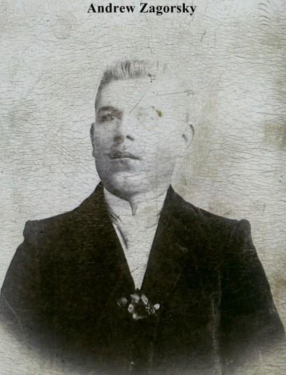 Andew Zagorsky of Lorain, Ohio