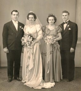 EDWARD AND ELIZABETH ZAGORSKY WEDDING PICTURE