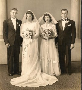 FLOYD AND CLARA KOBA ZAGORSKY WEDDING PICTURE