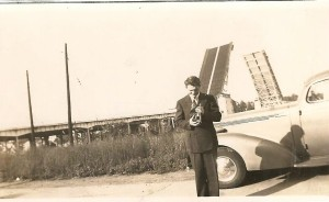 Floyd Ferner & bascule bridge - Lorain - 1940s