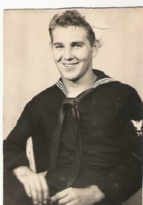 Floyd Zagorsky in uniform