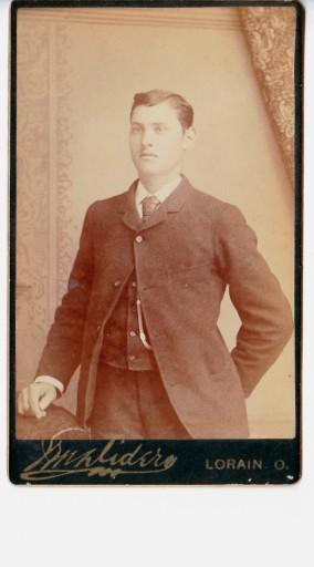 Unidentified Gentleman - Lorain, Ohio