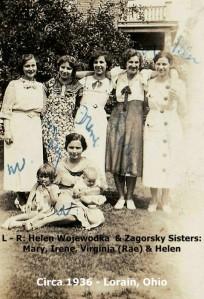 ZAGORSKY MARY IRENE RAE HELEN