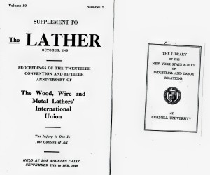 THE LATHER SUPP - OCT 1949 VOL 50 #2