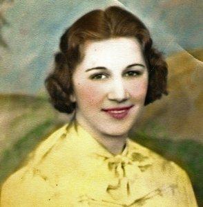 VIRIGNIA LIMES 1930S YELLOW BLOUSE