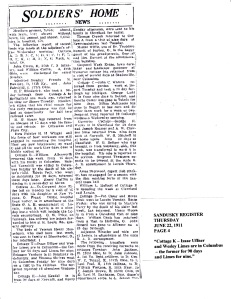 Wesley Limes - Sandusky Register - June 22 1911