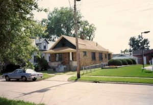 208 Arizona Avenue in the early 1980s