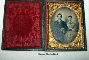 Silas and Martha Black - 1
