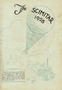 WARD VAN ORMAN LHS CLASS OF 1928 - Title Page
