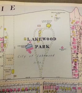 1956 LAKEWOOD PARK MAP FROM BILL BARROW