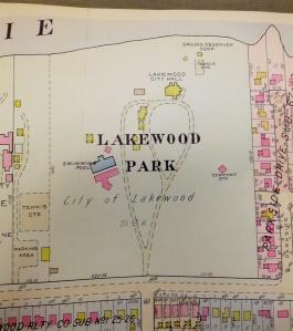1956 LAKEWOOD PARK MAP FROM BILL BARROW