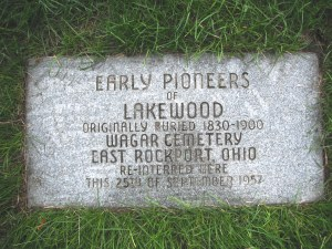 Early Pioneer of Lakewood Marker Photo