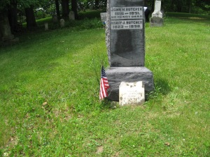 June 5 2015 - Butcher Cemetery Dr Butcher close up