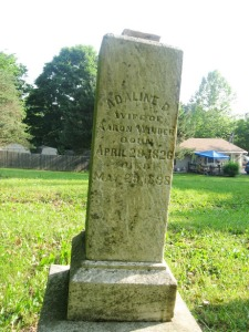 June 7 2015 - Butcher Cemetery Adaline Winder after D2