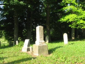 June 7 2015 - Butcher Cemetery Birddie B side of Winder stone after D2