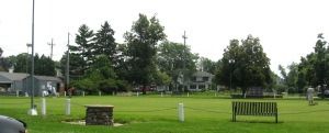 JULY 5 2015 - LAWN BOWLERS AT LAKEVIEW PARK - 1