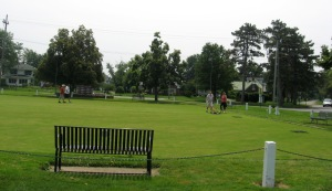 JULY 5 2015 - LAWN BOWLERS AT LAKEVIEW PARK - 4