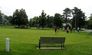 JULY 5 2015 - LAWN BOWLERS AT LAKEVIEW PARK - 5