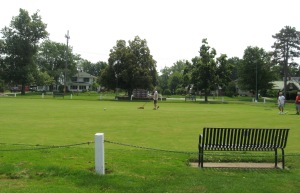 JULY 5 2015 - LAWN BOWLERS AT LAKEVIEW PARK - 6