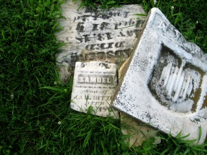 3 BROKEN MARBLE STONES - 7-17-2015 - 2