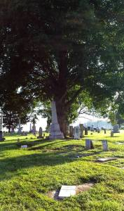 COCHRAN CEMETERY - LONG SHOT VIEW - 8-8-2015