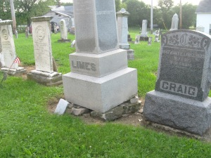 JOSEPH LIMES MONUMENT ON BROKEN PIECES - 7-17-2015 - 2