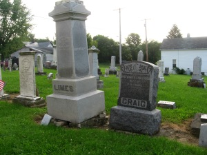 JOSEPH LIMES MONUMENT ON BROKEN PIECES - 7-17-2015