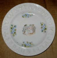 HARRY LIMES BABY PLATE