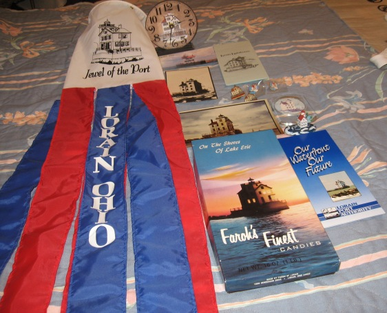 LORAIN LIGHT HOUSE ITEMS