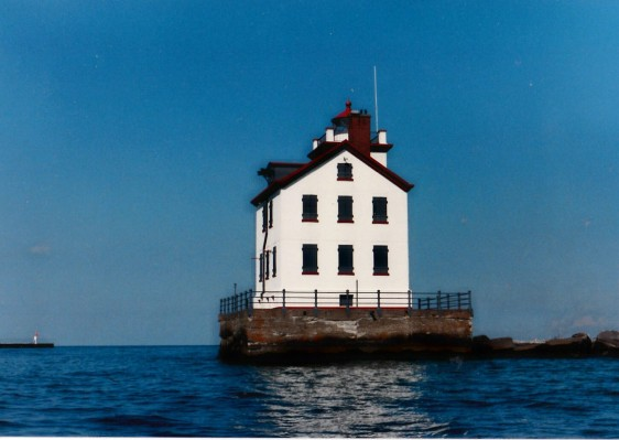Lorain Light house photo