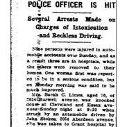 columbus dispatch - june 16 1924 - sarah limes age 70 taken to hospital - with text and frame